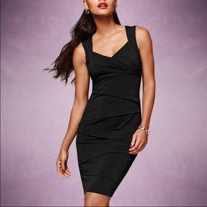 WHBM Instantly Slimming Black Dress Size 2